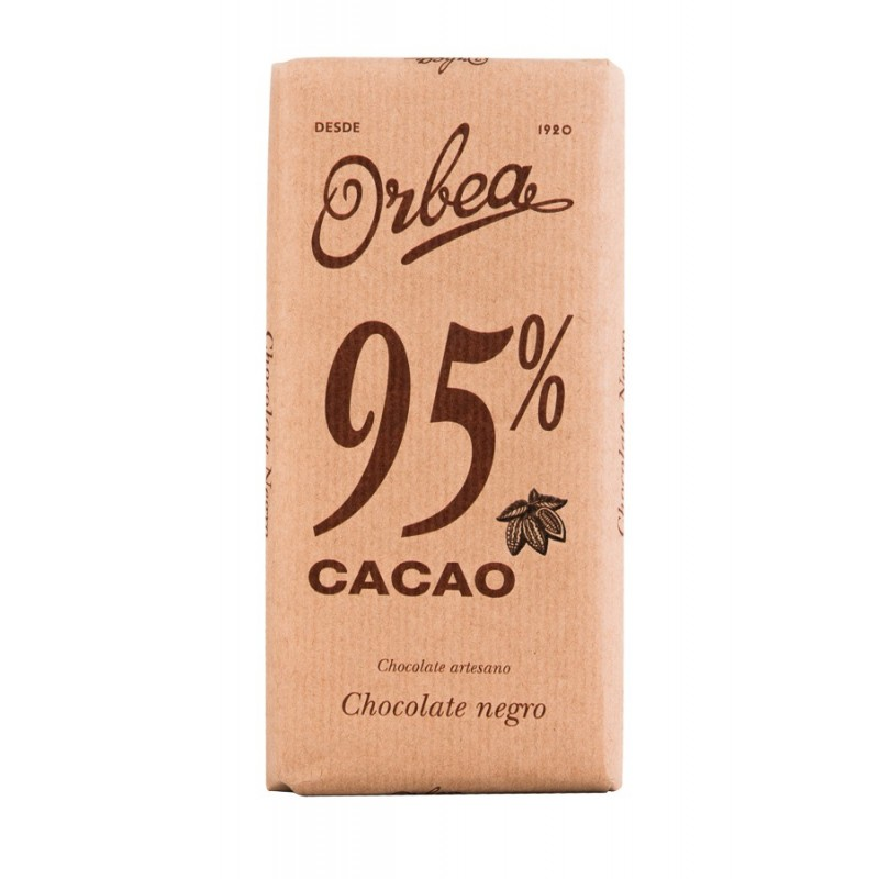 CHOCOLATE ARTESANO 95% CACAO