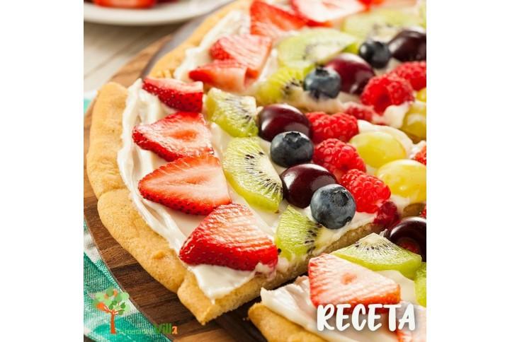RECETA: PIZZA DE FRUTAS